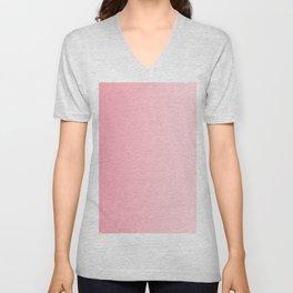 Pink to Pastel Pink Vertical Linear Gradient Unisex V-Neck