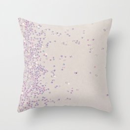 My Favorite Color (NOT REAL GLITTER - photo) Throw Pillow