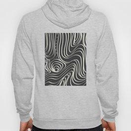 Lava abstract line art Hoody