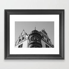 Town Hall Torgau 2 Framed Art Print