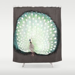 The tail that blinds. Shower Curtain
