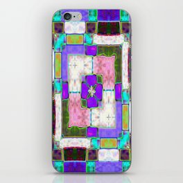 Glass Block Abstract iPhone Skin