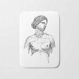 Aphrodite Greek Goddess Bath Mat