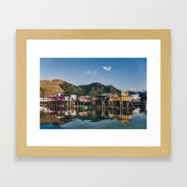 Stilt Houses in Tai O Framed Art Print