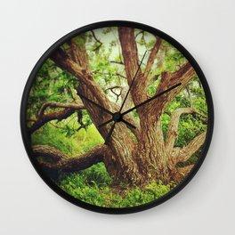 Big Green Tree Wall Clock