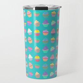 Cupcake sweet dream colourful factory pattern Travel Mug