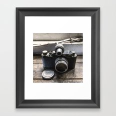 The Old Leica Framed Art Print