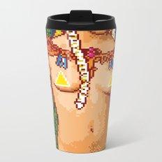 For a Good Time, Call Zelda Metal Travel Mug