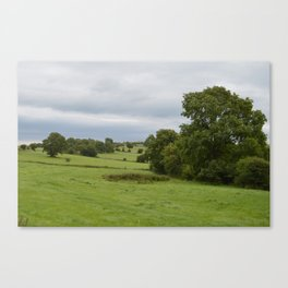 Green Green Countryside Canvas Print