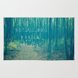 Wander in the Woods Rug