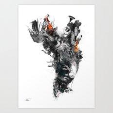 Unjaded Art Print