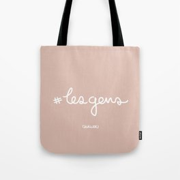#lesgens - White Tote Bag