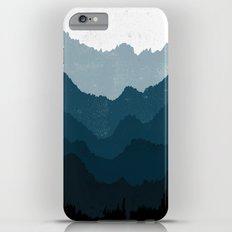 Mists No. 6 - Ombre Blue Ridge Mountains Art Print  iPhone 6s Plus Slim Case