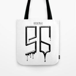S6 TEE BLACK PAINT Tote Bag