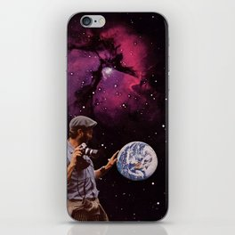 world in your hands iPhone Skin
