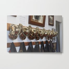 Fire men Metal Print