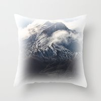 helen Throw Pillows featuring Helen by Charley Zheng