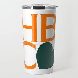 HBCU Love Typography Art No 02 Travel Mug