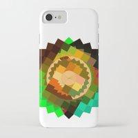 vertigo iPhone & iPod Cases featuring Vertigo by eff.