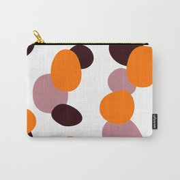 Simple, design wood dots, Exotico Carry-All Pouch