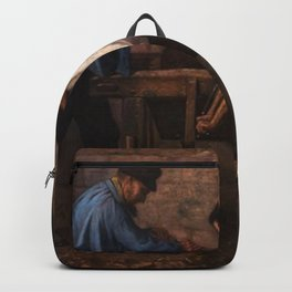 Gustave Courbet - The Knife-Grinders Backpack
