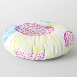 Spiro Blooms Floor Pillow