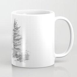 Bear Rocks in Fog Coffee Mug