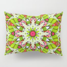 Kaleidoscopic Geometric Flower G542 Pillow Sham