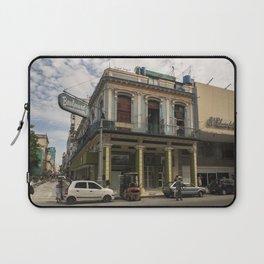 Nice lookin' street corner in La Havana, Cuba Laptop Sleeve
