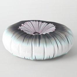 Heliozoa Microbe Microbiology Digital Art Floor Pillow