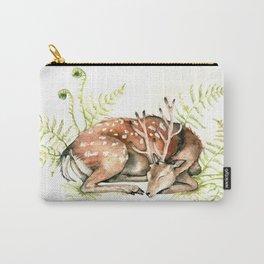 Sleeping Deer Carry-All Pouch