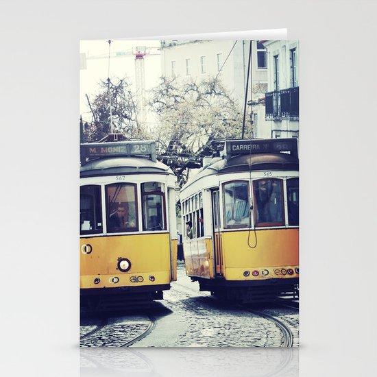 Yellow Lisbon Stationery Cards