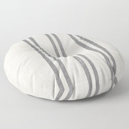 AEGEAN GREY STRIPE Floor Pillow