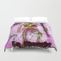 death Duvet Covers featuring Death  by RDsix3