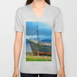 Highland Shipwreck Unisex V-Neck