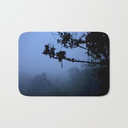 The blue forest Bath Mat