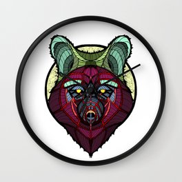 Coyote Wall Clock
