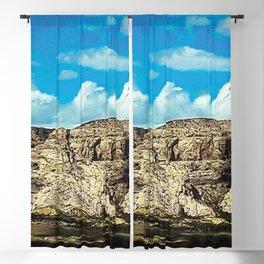 Mountains where Dinos Roamed Blackout Curtain