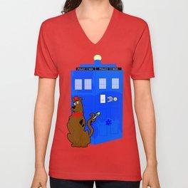 Doctor Scooby-Who Unisex V-Neck