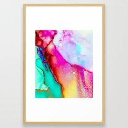 Bianca #abstract #modernart Framed Art Print