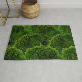 Moss - Green Luscious Mossy Texture - Full on Natural Moss Mounds- Earthy Greens -Turning Moss Green Rug