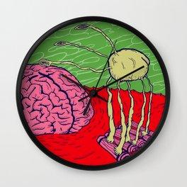 Bug in the brain Wall Clock