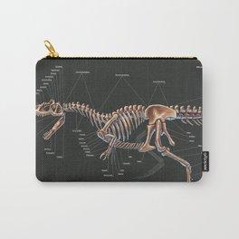 Allosaurus Fragilis Skeleton Study Carry-All Pouch