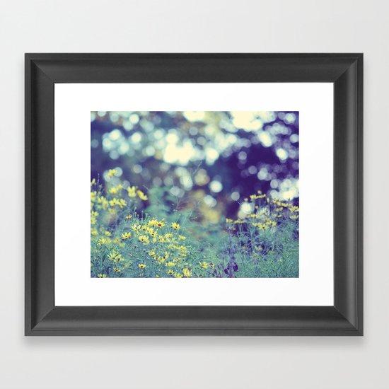 Dreamy days Framed Art Print