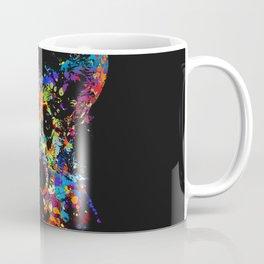 Colorful  Corgi Portrait Coffee Mug