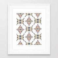 navajo Framed Art Prints featuring Navajo  by CrystalFairy