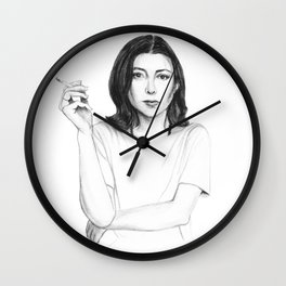 Joan Didion Wall Clock