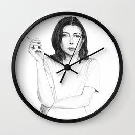 Joan Didion Wall Clock