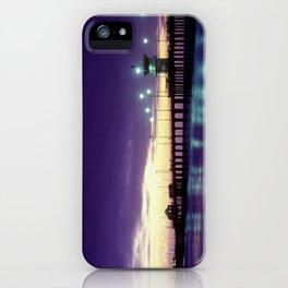 H.B. Pier Sunset 1983 iPhone Case