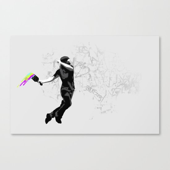 We need more color! Canvas Print